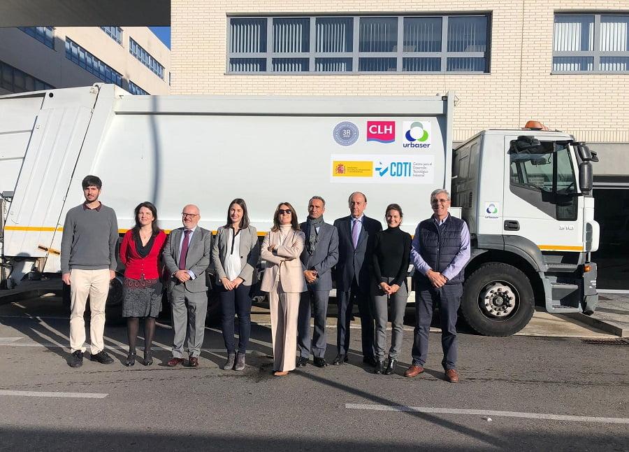 Urbaser y CLH obtienen combustible a partir de residuos plásticos