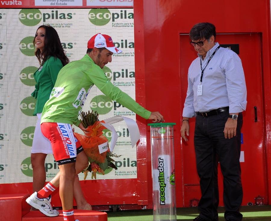 Ecopilas vuelve a colaborar con La Vuelta