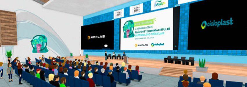 AIMPLAS y Cicloplast organizan la V edición de su jornada 'Plásticos y economía circular' con un innovador formato 3D de realidad virtual