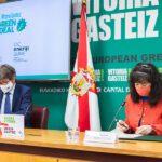 Vitoria quiere reutilizar las baterías de vehículos eléctricos en el alumbrado de la ciudad