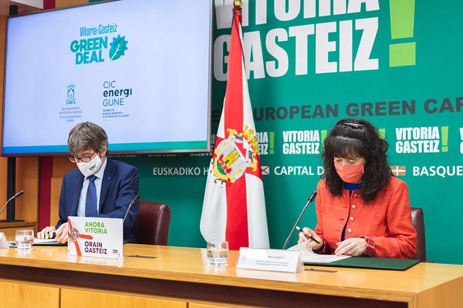 Convenio para reutilizar las baterías de vehículos eléctricos en la iluminación de Vitoria