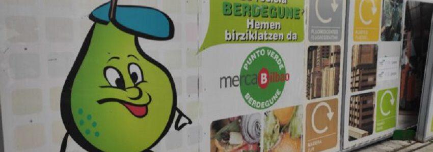 Mercabilbao recupera para su reciclaje el 41% de los residuos que genera