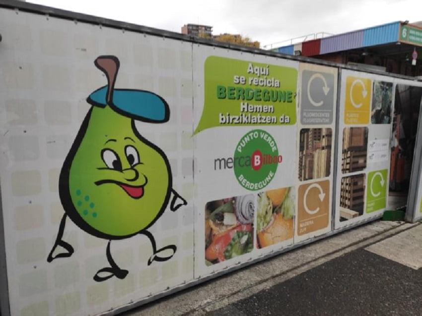 Mercabilbao incrementa sus cifras de reciclaje