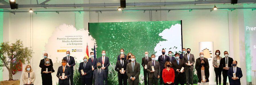 La gestión de residuos y la economía circular, grandes protagonistas de los Premios Europeos de Medio Ambiente a la Empresa
