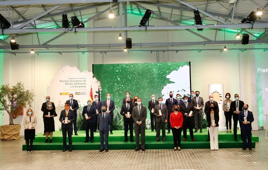 Entregados los premios de medio ambiente a la empresa 2019/2020