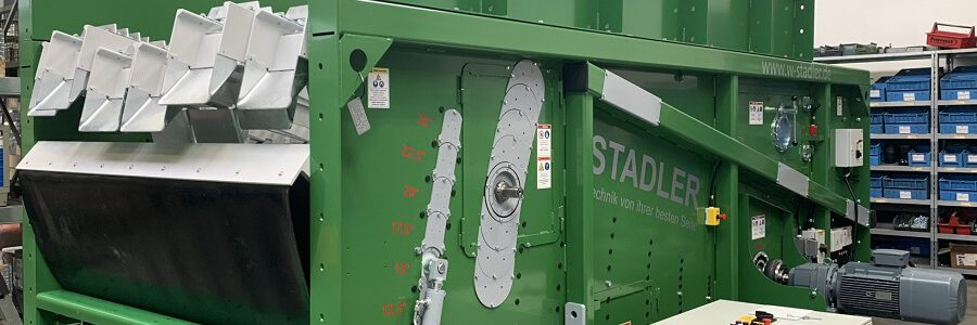STADLER fabrica su separador balístico número mil