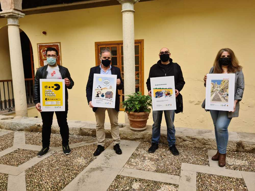 Humor gráfico para concienciar sobre la gestión de residuos en Jaén