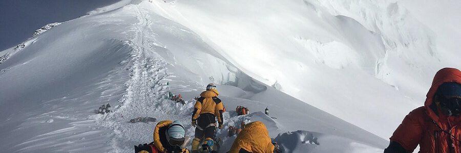 Microplásticos en la cima del Everest