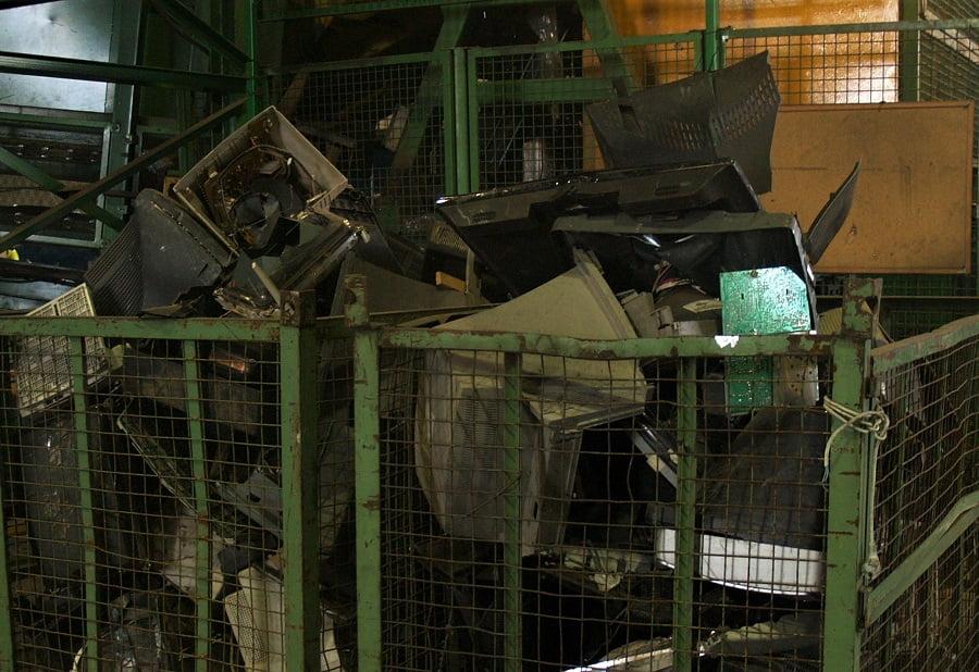 Los retardantes de llama bromados y el reciclaje de plásticos RAEE