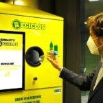 Comienza la instalación de las primeras máquinas que incentivan el reciclaje en España