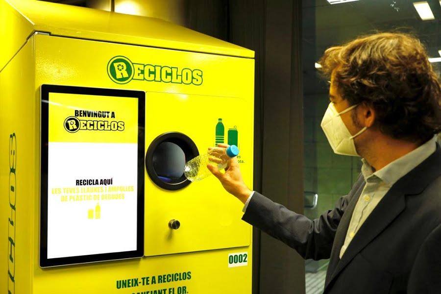 Primeras máquinas que incentivan el reciclaje