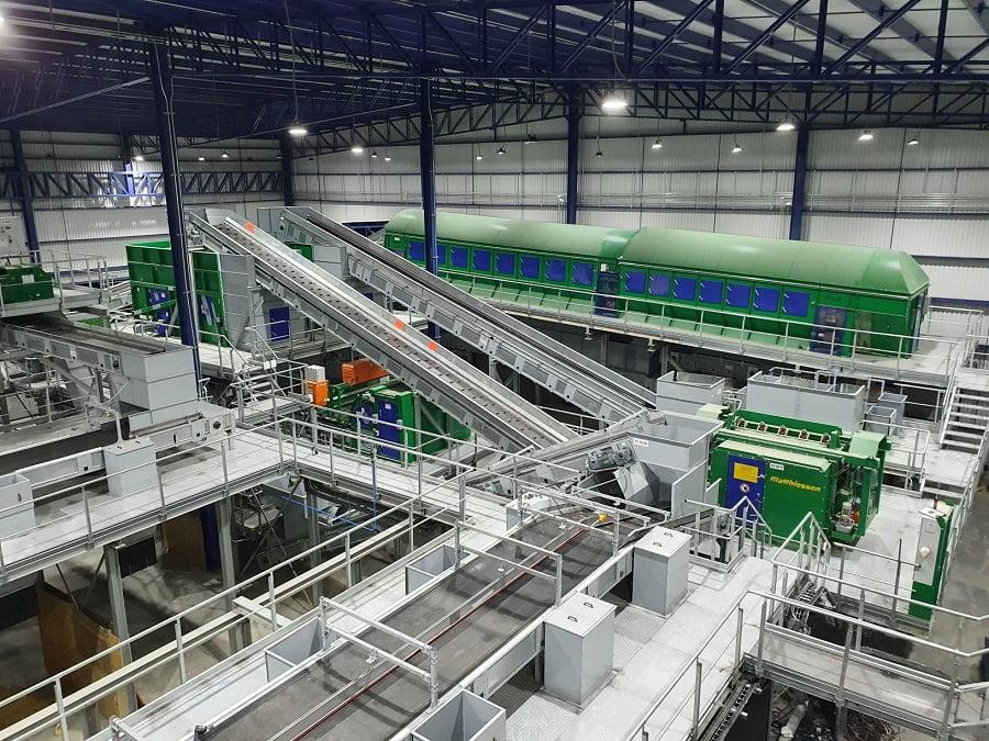 Nueva planta de reciclaje de STADLER en México