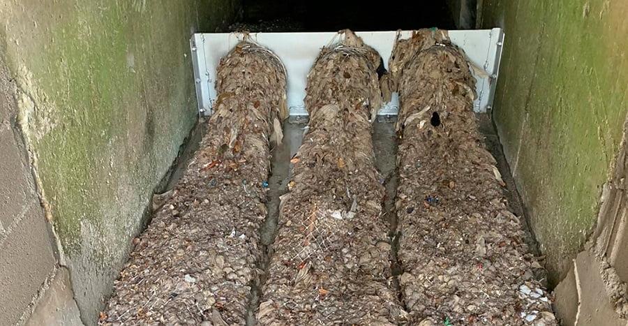 Sistema de retención de residuos Tecno-Grabber