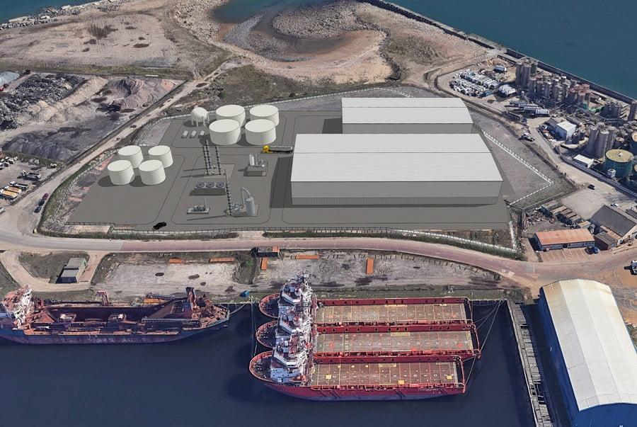 La planta de Wastefront obtendrá hidrocarburos líquidos a partir de neumáticos usados