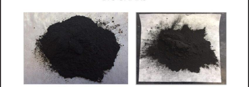 Biocarbón de residuos agrícolas para eliminar contaminantes emergentes en aguas residuales