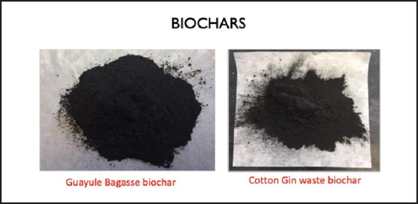 Validan el uso de biocarbón como adsorbente de contaminantes emergentes en aguas residuales