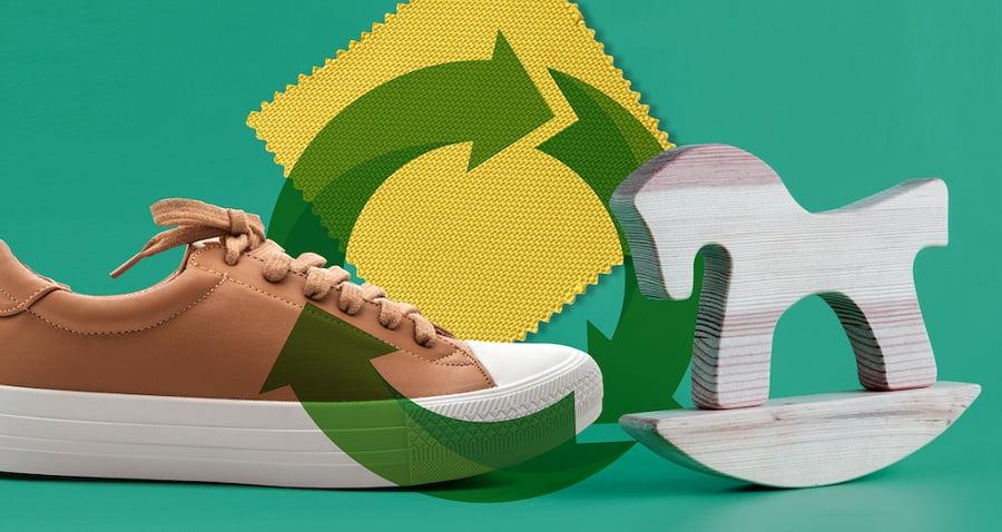Proyecto para la valorización de residuos de calzado, juguetes y textiles