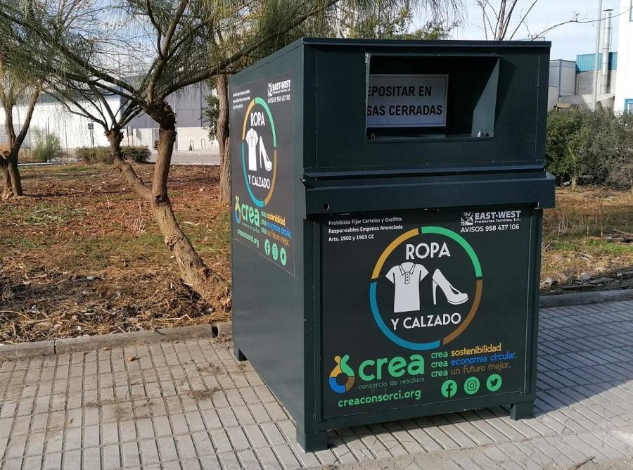 Nuevo servicio de recogida de residuos textiles del Consorcio Crea