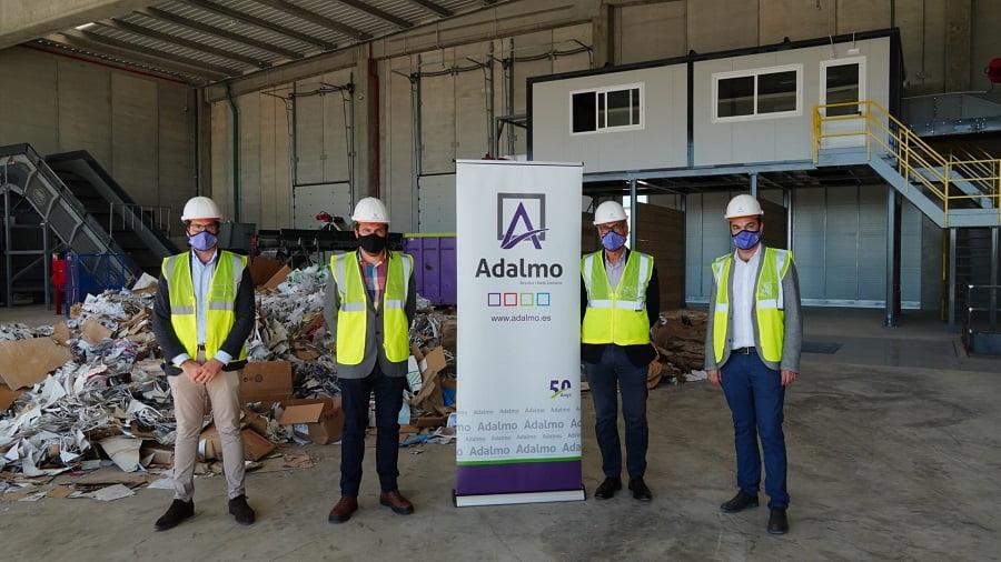 Nueva planta de reciclaje de Grupo Adalmo en Mallorca