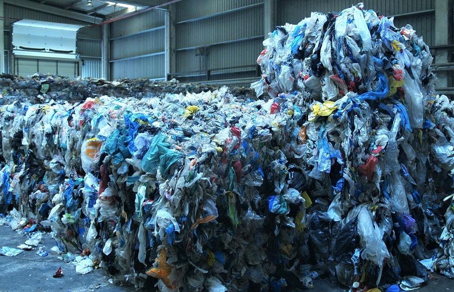 Planta de reciclaje de plásticos