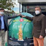 Ecovidrio reta a los ciudadanos de 44 municipios españoles a intercambiar envases de vidrio por comida para los Bancos de Alimentos