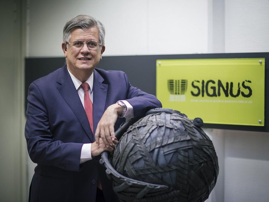 SIGNUS presenta las nuevas tarifas para la gestión de neumáticos fuera de uso