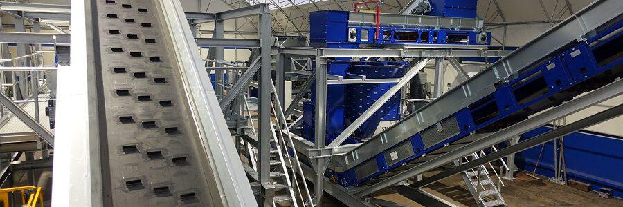 STADLER abre un nuevo Centro de Pruebas e Innovación dedicado a la clasificación y el reciclaje de plástico