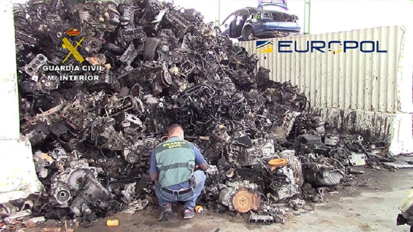Desarticulada una red de tráfico ilegal de residuos peligrosos