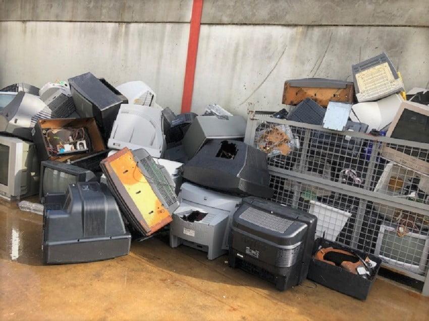 Residuos electrónicos proyecto ESTRAEE