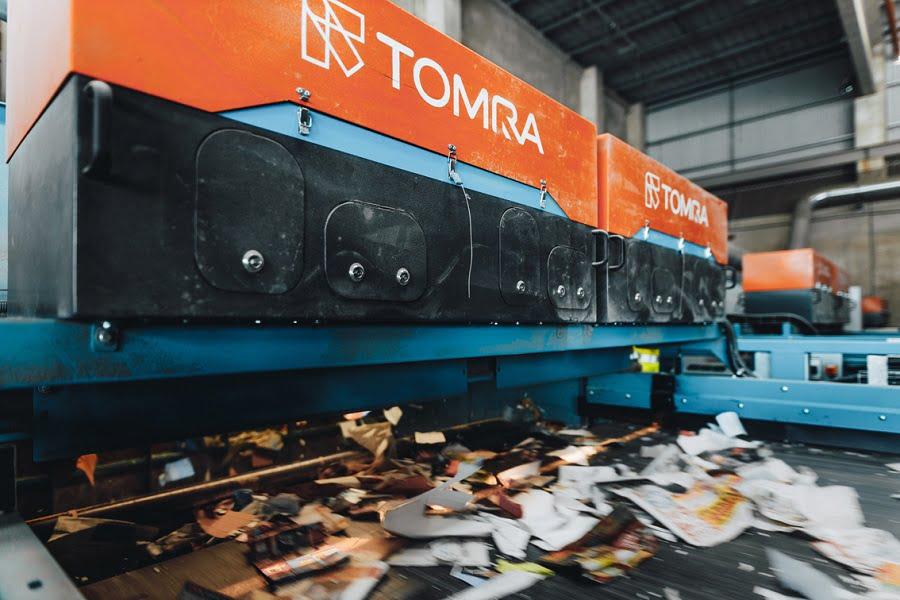 TOMRA instala 7 AUTOSORT en la planta de reciclaje de papel de Koppitz Entsorgungs
