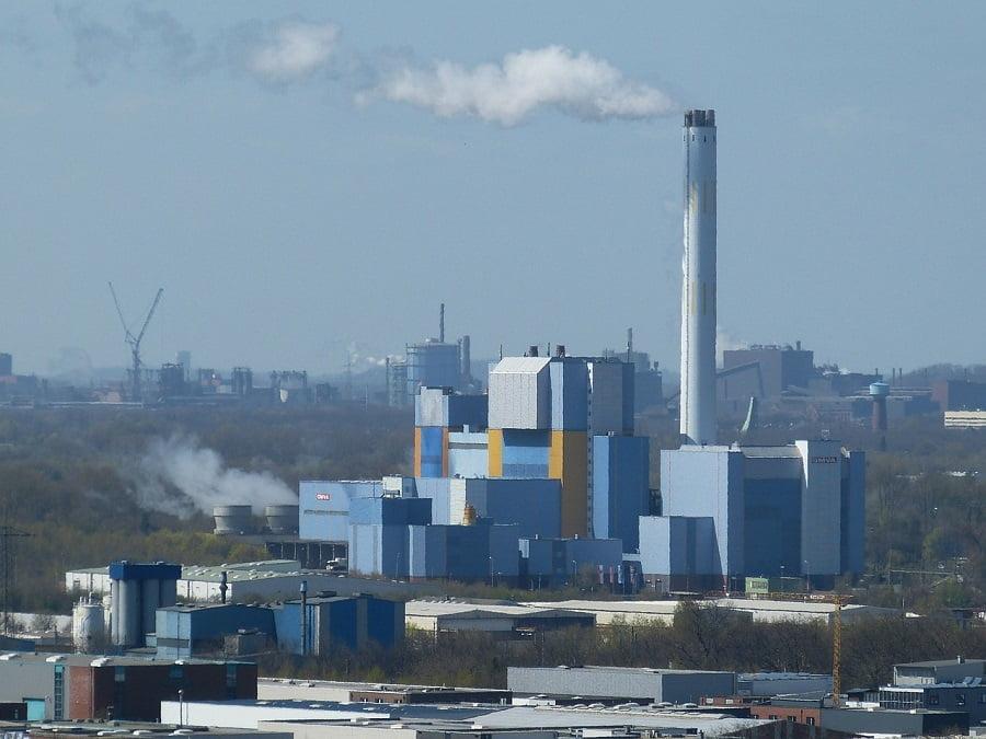 Planta de incineración de residuos