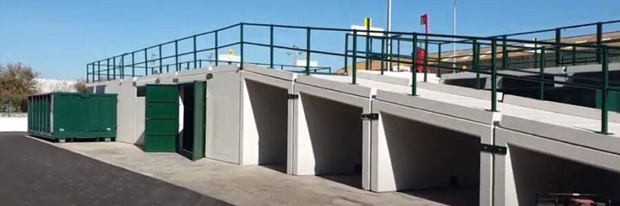 Sevilla inaugura un punto limpio construido con materiales reciclados