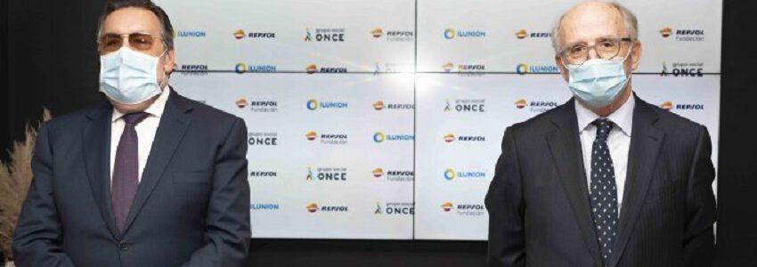 Fundación Repsol e ILUNION crean una nueva empresa de reciclaje industrial de residuos electrónicos