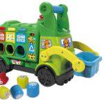 Juguetes fabricados con bioplásticos y plásticos reciclados