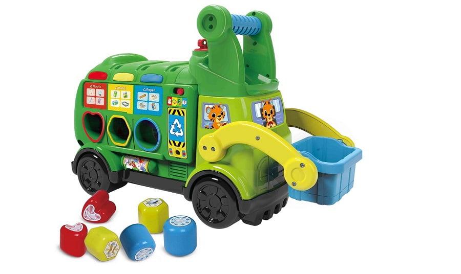 VTech lanza nuevos juguetes fabricados con plástico reciclado y bioplásticos