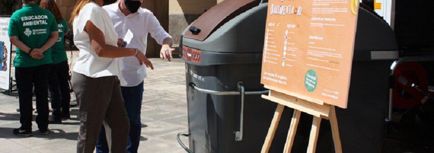 La recogida selectiva de residuos en Castellón crece un 22% en un año