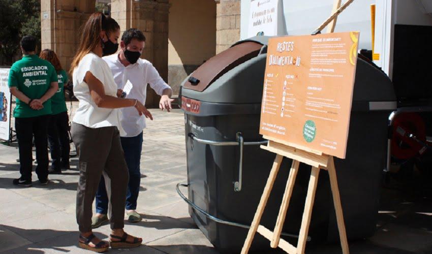 Notable incremento de la recogida selectiva de residuos en Castellón