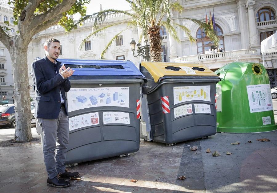 Valencia genera menos residuos y recicla más