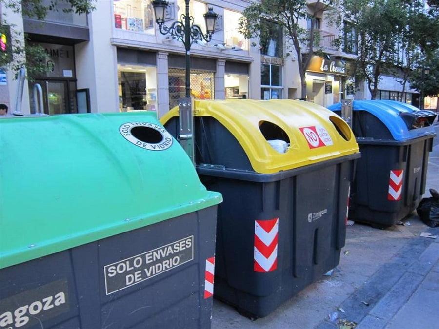 Zaragoza alcanza el objetivo europeo de reciclaje de residuos
