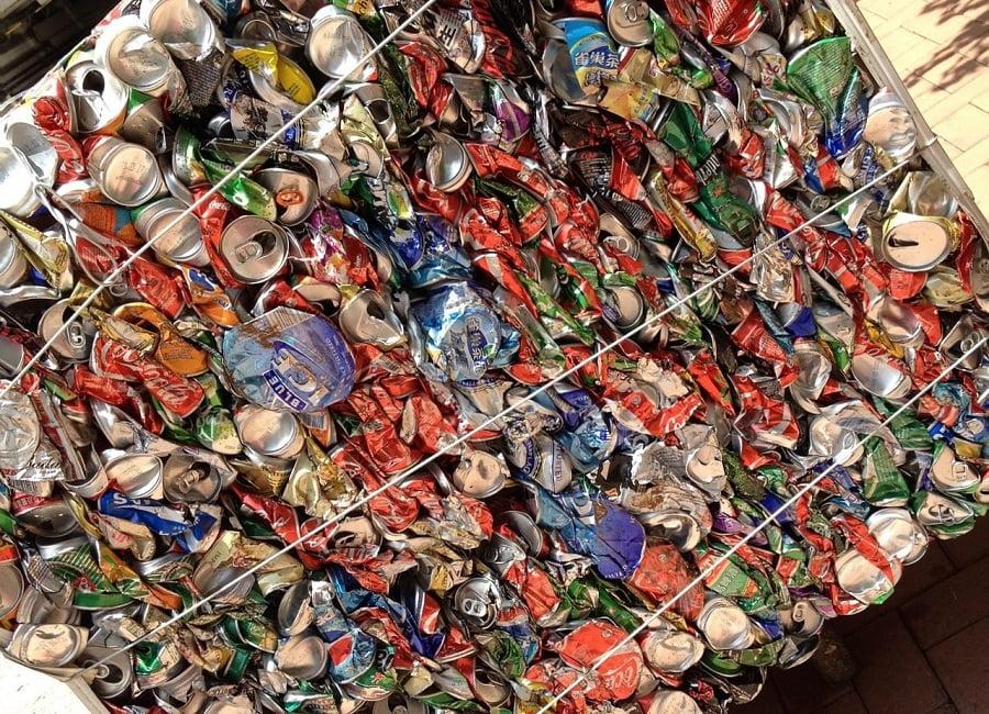 envases de aluminio para reciclar