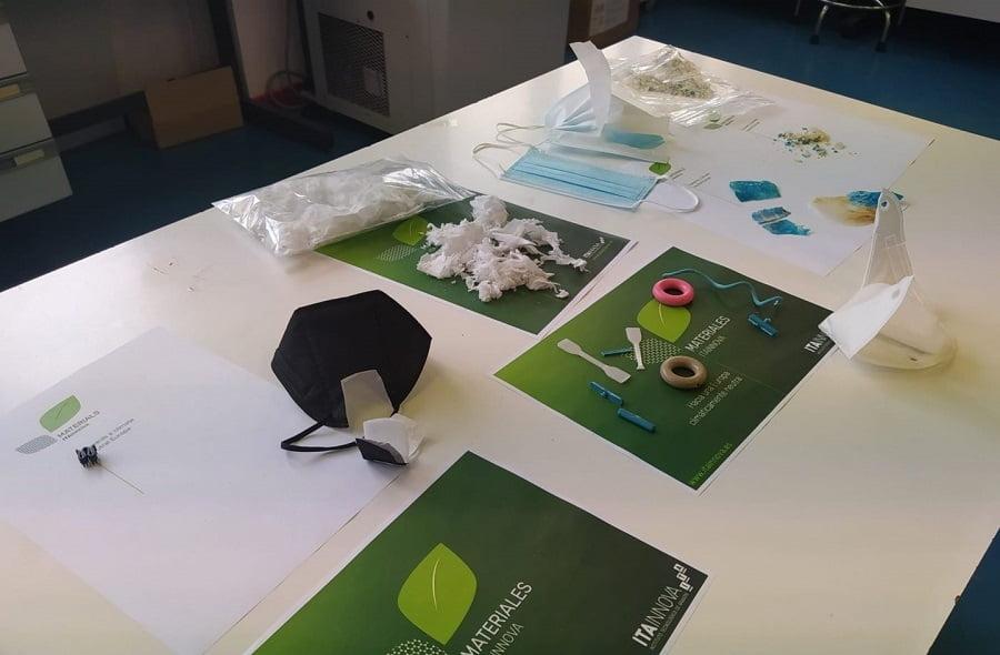 Itainnova consigue reciclar las mascarillas FFP2