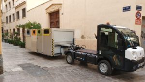 Nuevo sistema de recogida de residuos en la zona monumental de Valencia