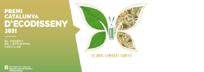 Abierto el plazo de presentación de candidaturas al Premio Cataluña de Ecodiseño 2021