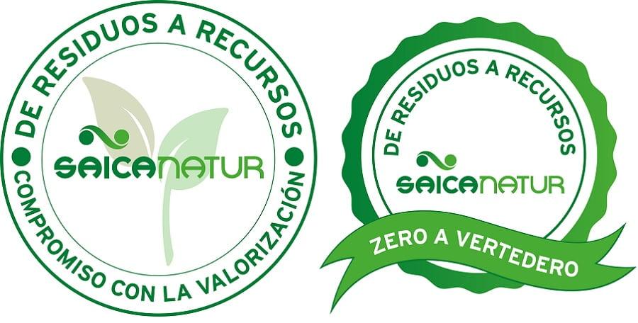 Nuevos sellos de calidad en materia de residuos de Saica Natur