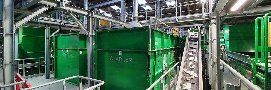TOMRA Sorting Recycling y STADLER, proveedores tecnológicos para la modernización de la planta de reciclaje de Viridor Masons, en Reino Unido
