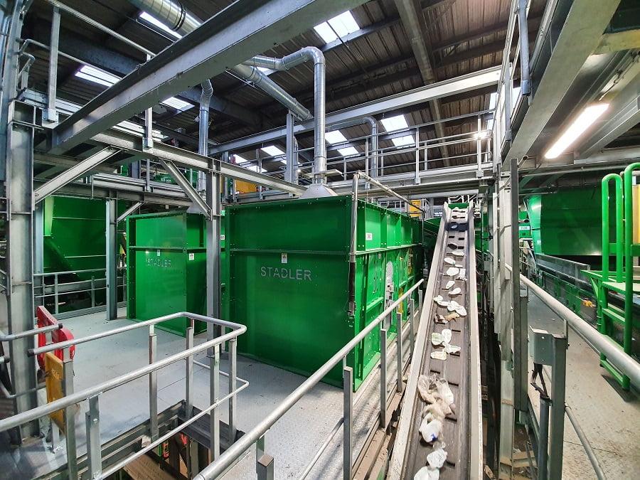 TOMRA y STADLER modernizan la planta de reciclaje de Viridor en Masons