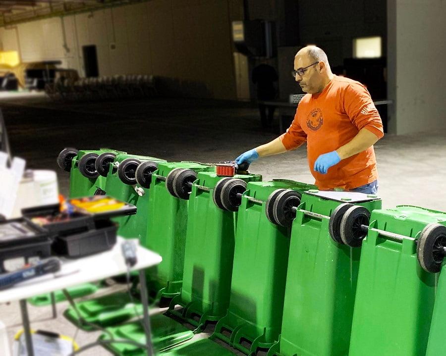 Baleares prueba contenedores inteligentes para la gestión de residuos turísticos
