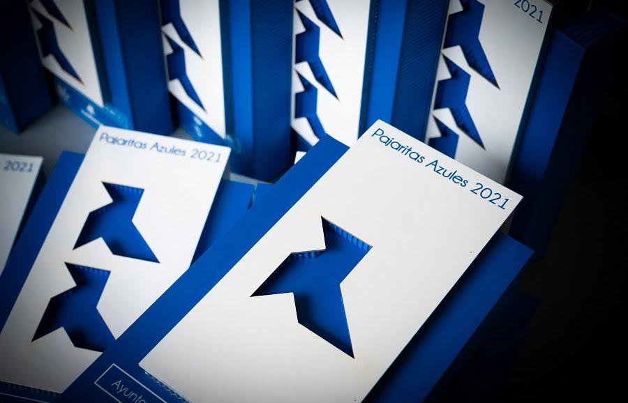 Entregadas las pajaritas azules 2021 a la excelencia en la recogida selectiva de papel y cartón