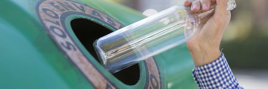 Los españoles reciclaron 840.000 toneladas de envases de vidrio en 2020
