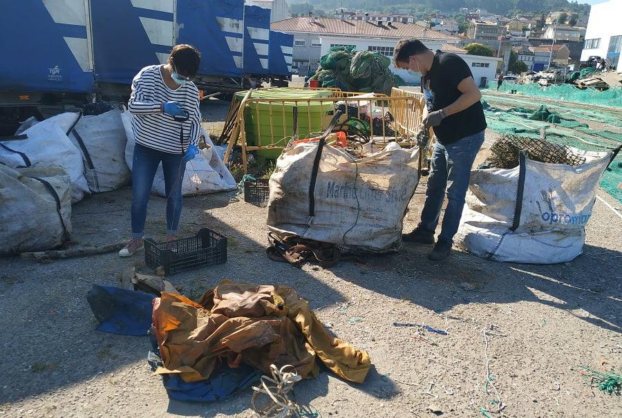 Basuras marinas recuperadas en el proyecto RepescaPlas
